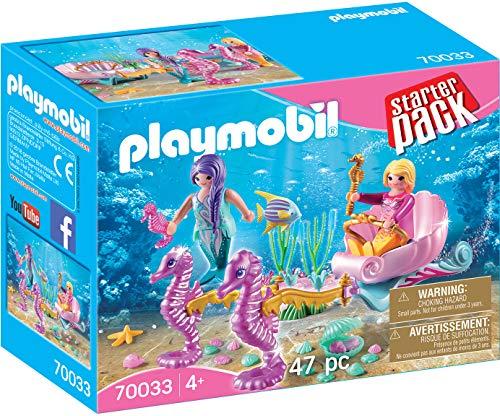 Playmobil 70033Starter Pack Starter Pack Caballito de mar Carruaje