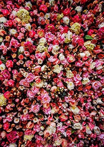 Vintage Rustikal Flower Wandbild Hintergrund Hochzeit Pfingstrose Rose Romantischer Floral Foto Hintergründe für Booth Studio 5x 7ft