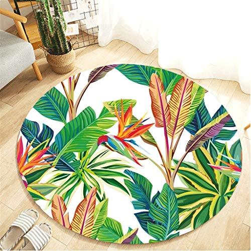 ch für Wohnzimmer Bodendekoration Sofa Stuhl Flächenkissen Decke Schlafzimmer Teppich Multicolor Tropische Pflanzen Muster ()