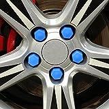 sypure (TM) Automotive silicona rueda tornillo tapa de protección para Ford Focus 2/Focus 3/Kuga/Ecosport/Edge/Mondeo/Fiesta