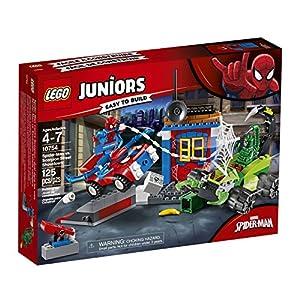 LEGO Juniors - 10754 Spider-Man Contro Scorpione Resa dei Conti Finale, Multicolore, 10754 LEGO