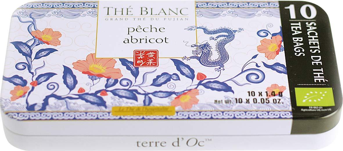 Terre-dOc-Weier-Bio-Bai-Mu-Dan-Tee-mit-Aromen-von-Pfirsich-und-Aprikose-Th-blanc-pche-abricot-in-dekorativer-Reiseschatulle-14-g