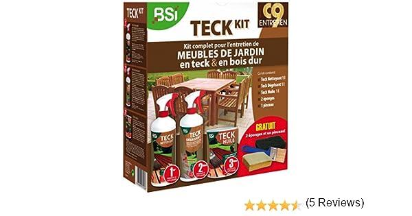 BSI 5367 Teck Kit d\'entretien pour meubles de jardin en teck ...