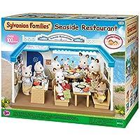 Sylvanian Families - 4190 - Mobilier De Poupée - Restaurant De Bord De Mer