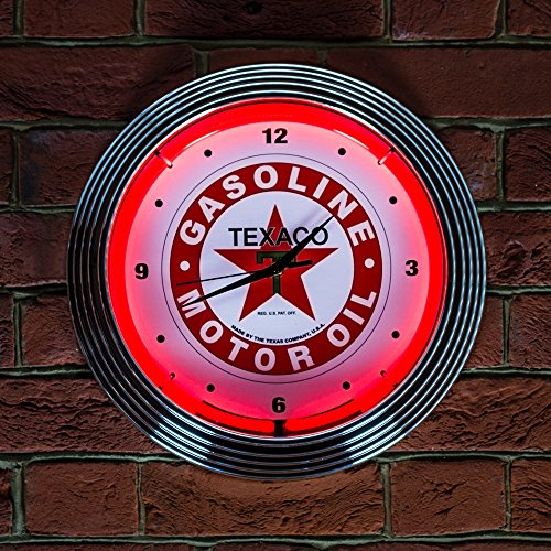 petrolheads-garage-mancave-bar-pub-red-and-white-texaco-motor-oil-icon-neon-neonetics-real-neon-not-