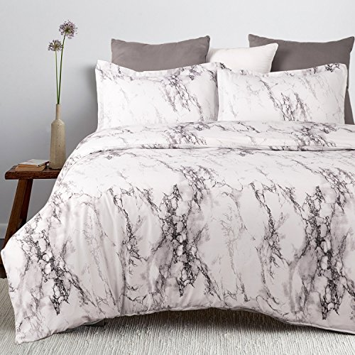 Bedsure Duvet Cover Set Double S...