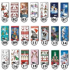 2x 10 Taschentücher Motiv Auswahl möglich Weihnachten Kinder