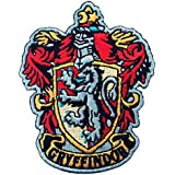 Harry Potter House of Gryffindor Crest Applique Embroidered Patch Iron On Parche Bordado Termoadhesivo