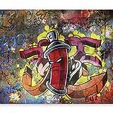 murando Papier peint intissé 350x256 cm Décoration Murale XXL Poster Tableaux Muraux Tapisserie Photo Trompe l'oeil Graffiti 10110905-1