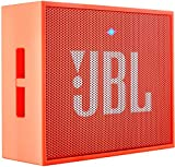 JBL GO Diffusore Bluetooth Portatile, Ricaricabile, Ingresso Aux-In, Vivavoce, Compatibilità Smartphone/Tablet e Dispositivo MP3, Arancio