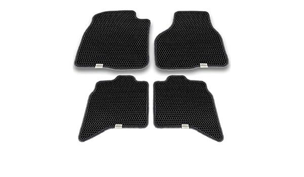 Nylon Carpet Black Coverking Custom Fit Front Floor Mats for Select Mitsubishi Raider Models