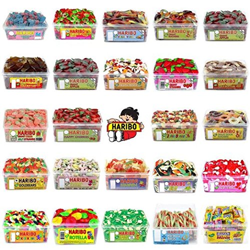 haribo-sweets-28-full-sealed-tubs-to-choose-from-long-exp-dates-rhubarb-and-custard