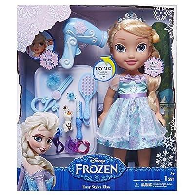Disney Frozen; El Reino de Hielo - Hacer Elsa Toddler Doll Peinado por Disney