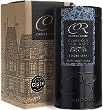 Classique Earl Grey, Thé Noir à la Bergamote, Feuille Entière Biologique en Vrac, Boîte Cadeau 100g