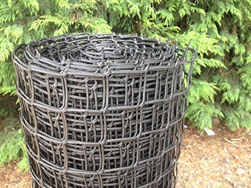 plastic-garden-fencing-1m-x-10m-black-50mm-holes-clematis-netting-mesh-ideal-for-plant-pet-vegetable