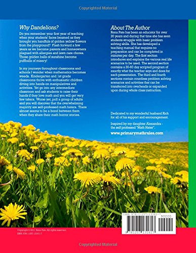 When Do Dandelions Become Weeds - A Guide To Teaching Problem Solving In The Primary Classroom