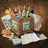 """""""BIERE DER WELT"""" Geschenkidee für Männer INKL. Bierdeckel + Geschenkkarton + Bier-Info. Biergeschenk für Männer oder als ausgefallene Geschenke für den Freund. Die perfekte Geschenkidee für Männer (6x0,33l) -"""