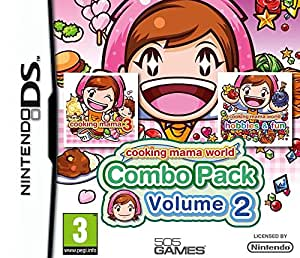 Cooking Mama World : Cooking Mama 3 + Cooking Mama : Ateliers Créatifs [Combo pack : Vol 2]
