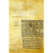Historia literatura española vol. 1: eda: Edad Media y Renacimiento (VARIOS GREDOS)
