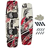 KITEBOARD F2 Ride 132 x 40 white red 2015