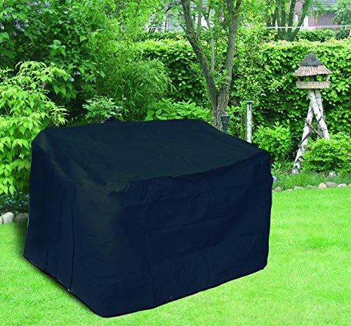 Profiline Schutzhülle aus starkem 420 D Polyester in anthrazit für eine 3 Sitzer Gartenbank, in praktischer Tragetasche, 160 x 80 cm, 80 cm Höhe, 454759