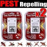 2Riddex Plus gegen Parasiten für die Nagetiere, die Felsen, Ameisen, Spinnen