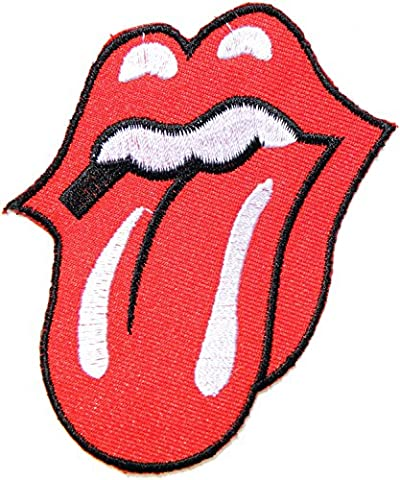Rolling Stone langue Band Logo Embroidered Sew Iron on Patch