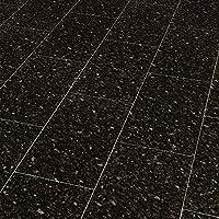 ELESGO Klick Laminat V5 Fuge ( NKL 32 Inkl. Trittschalldämmung ) Black  Pearl + Hochglanz