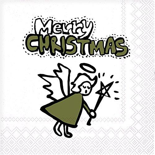 CEDON Kollektion Servietten, Merry Christmas Engel (Merry Christmas Kollektion)