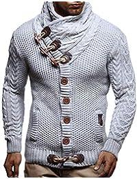 7a279af8fef6cd LEIF NELSON Herren Strickjacke Pullover Hoodie Jacke Sweatjacke Sweatshirt  Sweater Pulli Winterjacke…