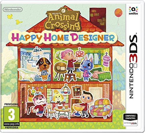 Animal Crossing Happy Home Designer 3ds De Segunda Mano Uzzet