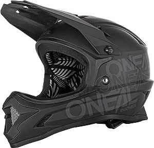 O Neal Backflip Solid Dh Fahrrad Helm Schwarz 2020 Oneal Größe L 59 60cm Sport Freizeit