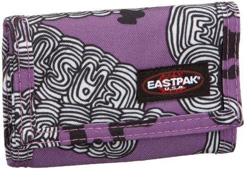 Eastpak portafoglio di backstage 12 print seasonal viola grassetto 8x11.5(folded) cm