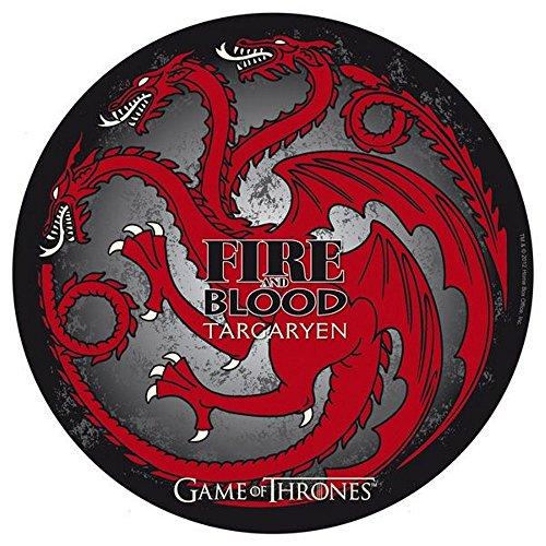 Preisvergleich Produktbild Game of Thrones - TV Serien Mousepad Mausmatte - Targaryen - 21,5 cm