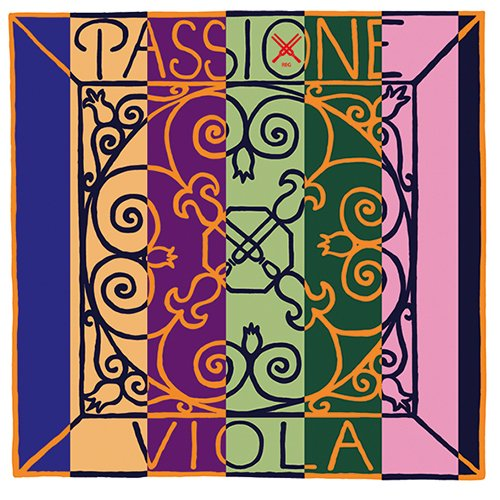 Pirastro 322131 Passione Viola a'-1 (ball, steel) strong