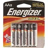 Energizer Max Alkaline AA Batteries 8 Ea (Pack Of 3)