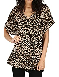 Women/'s Net Mesh Vest  Insert Oversize 2 in 1 Baggy Batwing Top Size UK 8-26