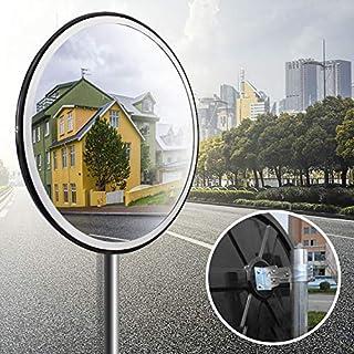 Forever Speed Überwachungsspiegel Sicherheitsspiegel Panoramaspiegel PC Konvex Verkehrsspiegel (30CM)