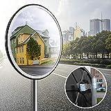 Best Miroirs de sécurité Retour - Speed Sécurité miroir convexe Surveillance panoramique miroir routier Review