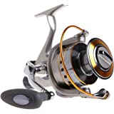 Yoshikawa Spinnrolle Mit freilauf schnelle Angelrolle Karpfen Meer Angeln Spinning Reel Freilaufrolle Aluminium Spule Griff 11 Kugellager cy3000–6000 5,5: 1