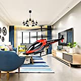VATOS RC Helicopter, Remote Control Helicopter Indoor 3.5 Channels Hobby Mini RC Flying Helicopter 2 Blades Replace Included RC Plane Toy Gift for Kids Crash Resistance Consistent,Built-in Gyro
