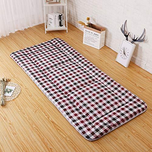 Matratze Matte,folding Japaner Tatami Schlafen Pad,weich Tatami Bettdecke Abdeckung,anti-rutsch Bett Roll Für Wohnheim-a Twin Xl ()