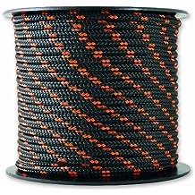 Chapuis MO325N Drisse polyester 200 kg D 3 mm L 25 m Noir/Orange
