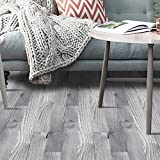 J 3D Holz Aufkleber Selbstklebende Bodenbelag Aufkleber Simulation Holz Boden Aufkleber Küche Schlafzimmer Wohnzimmer Boden pvc Aufkleber 20CM * 5M , 7