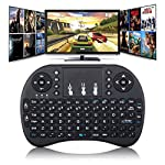 Product description: (2017 Updated) 2.4GHz wireless mini keyboard with touchpad Style:Ergonomics,Multimedia,Mini Type:2.4Ghz Wireless Version: Built in rechargeable Lithium battery Interface Type:USB Application:Desktop,Laptop Operatinoal range: up t...