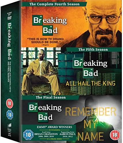 Breaking Bad [Import anglais], DVD/BluRay