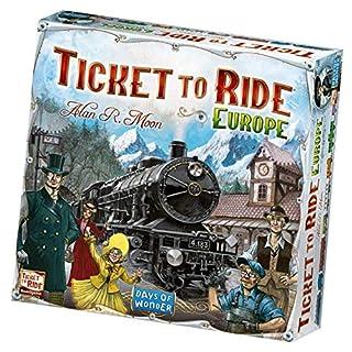 Days of Wonder DOW7202 Ticket to Ride Europe