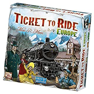 Days of Wonder DOW7202 Ticket to Ride Europe by Game (B000809OAO) | Amazon Products