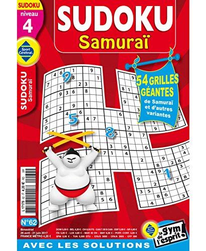 Sudoku Samuraï Niveau 4 par sportcerebral