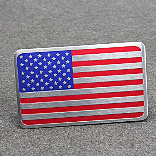 Metall Emblem Aufkleber USA Fahne, gebraucht gebraucht kaufen  Wird an jeden Ort in Deutschland